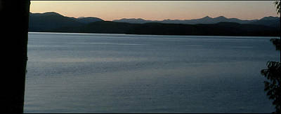 Jerry Sodorff Royalty-Free and Rights-Managed Images - Priest Lake Sunset 8069 by Jerry Sodorff