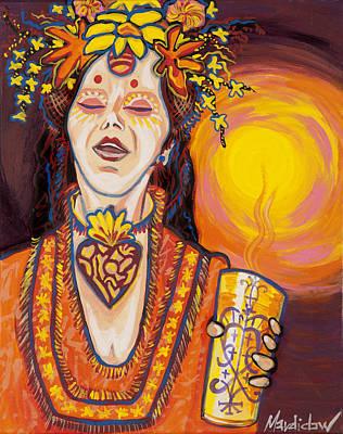 Priestess Art Print by Mardi Claw