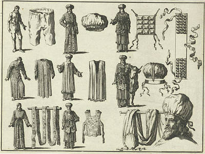 Priestly Vestments, In Order Of Fairing Variant B Print by Quint Lox