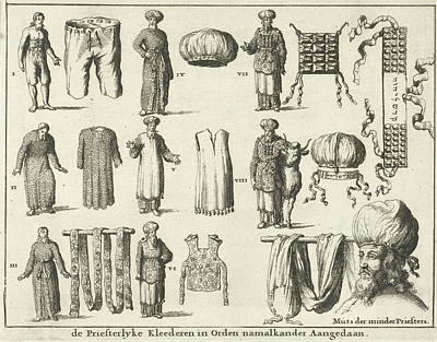 Priestly Vestments, In Order Of Fairing Variant Print by Quint Lox