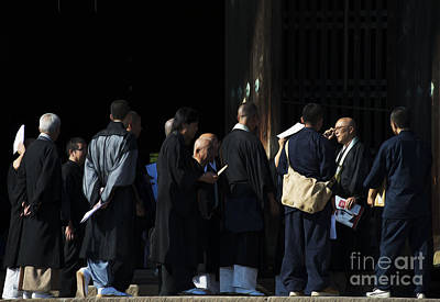 Photograph - Priests Of Todai-ji by David Bearden