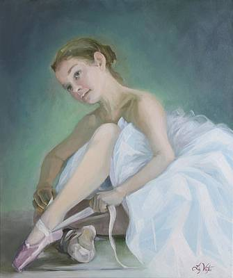 Painting - Prima Ballerina by Liz Viztes