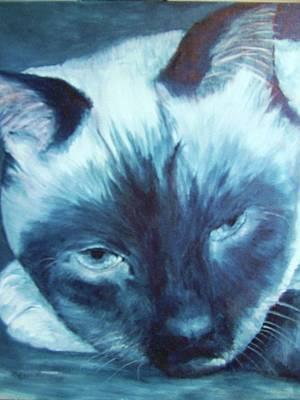 Prima Donna, Cat Art Print