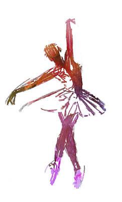 Prima Ballerina Digital Art - Prima Donna by Steve K