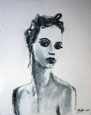Painting - Primadonna by Jarmo Korhonen aka Jarko