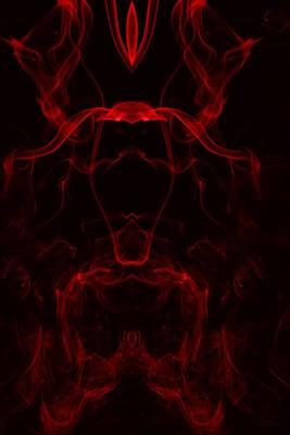 Smoke Art Photograph - Primal Scream by Mike Farslow