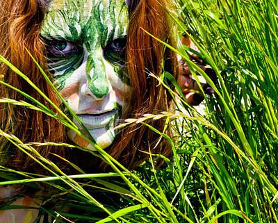 Tribal Photograph - Primal Women IIi by Kristen R Kennedy