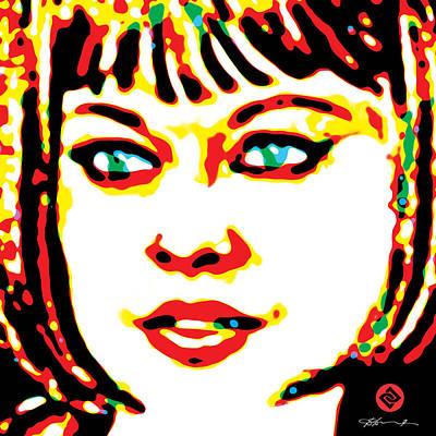 Digital Art - Primarily Jade by David Davies