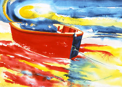 Amagansett Painting - Primary Colors by Lorraine LaVista