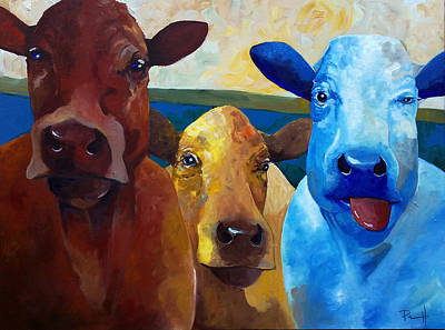 Painting - Primary Cowlers by Sean Parnell