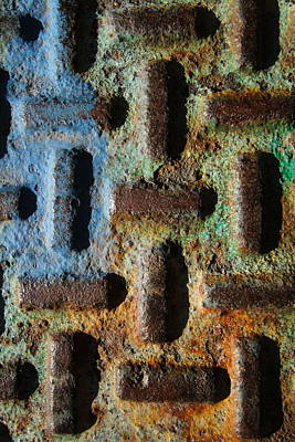Photograph - Primary. Secondary..rust... by Artist Orange
