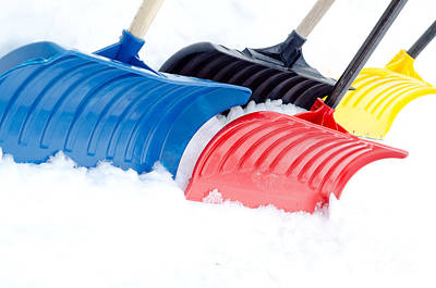 Painting - Primary Shovels by Laurel Best