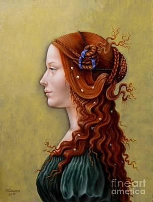 Painting - Primavera by Nathalie Chavieve
