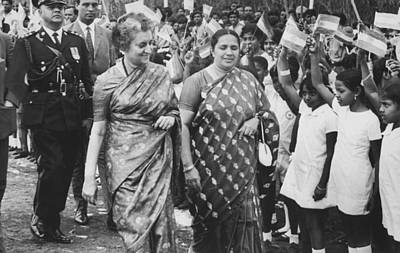 3rd Photograph - Prime Minister Indira Gandhi by Underwood Archives