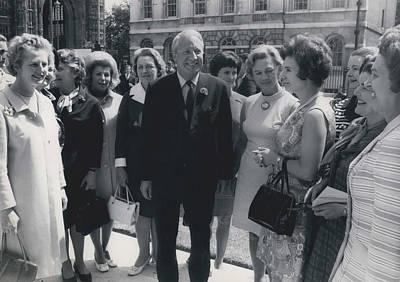 Prime Minister Meets Conservative Women M. P ��s Art Print by Retro Images Archive