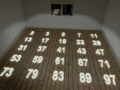 Reality Photograph - Prime Numbers by Robert Brook