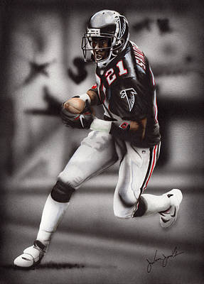 Atlanta Falcons Painting - Prime Time by Joshua Jacobs