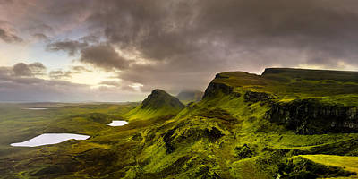 Photograph - Primeval Earth - Isle Of Skye Panorama by Mark E Tisdale
