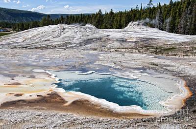 Photograph - Primeval Geothermal Landscape by Brenda Kean