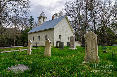 Spot Of Tea Royalty Free Images - Primitive Baptist Church Royalty-Free Image by Anthony Heflin