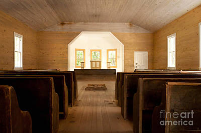 Photograph - Primitive Baptist Church by Lena Auxier