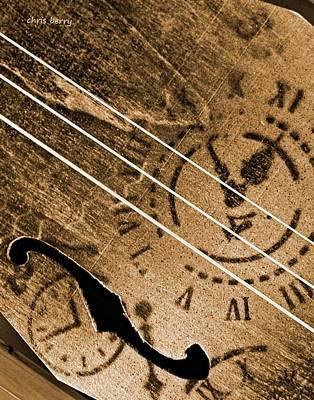 Resonator Photograph - Primitive  by Chris Berry