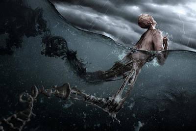 Pain Photograph - Primordial Soup by Christophe Kiciak