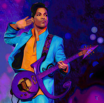 Princes Painting - Prince 3 by  Fli Art