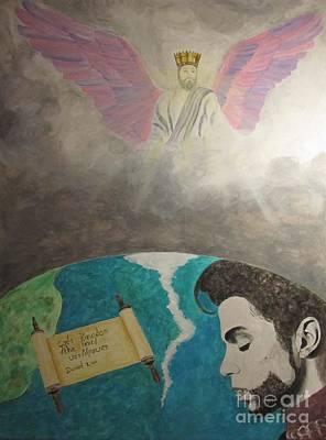Prince And Prayer Art Print