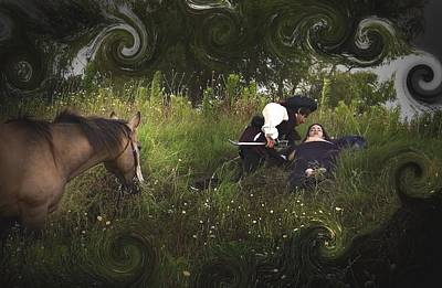 Photograph - Prince And Snow White by Cherie Haines