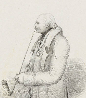 Nineteenth Century Drawing - Prince Blucher by Samuel Freeman