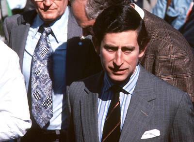 Photograph - Prince Charles - 1980 by Robert  Rodvik