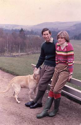 Prince Charles And Lady Diana Art Print by Retro Images Archive