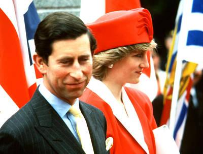 Photograph - Prince Charles And Princess Diana by Robert  Rodvik