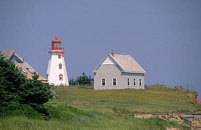 Movies Star Paintings - Prince Edward Island Light by Buddy Mays
