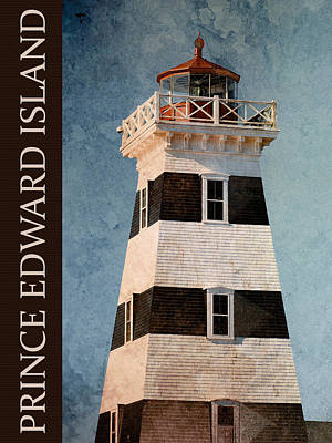 Photograph - Prince Edward Island Lighthouse by WB Johnston