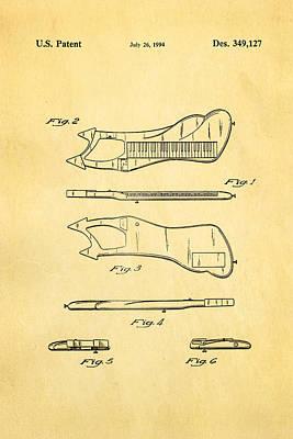 Electronic Photograph - Prince Electronic Keyboard Patent Art 1994 by Ian Monk