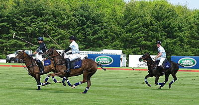 Photograph - Prince Harry Greenwich Polo Club by Russ Considine