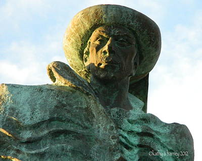 Art Print featuring the photograph Prince Henry The Navigator by Kathy Barney