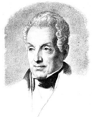 Prince Metternich (1773-1859) Art Print