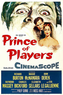 Prince Of Players, Us Poster, From Left Art Print