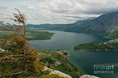 Photograph - Prince Of Wales Hotel And Middle Waterton Lake by Charles Kozierok