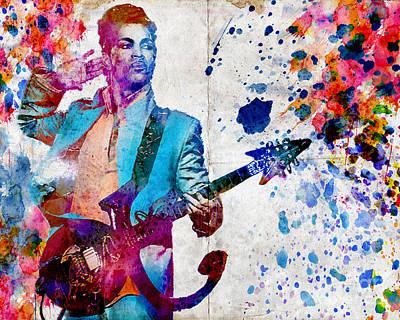 Prince Original  Original by Ryan Rock Artist