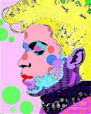 Digital Art - Prince by Ricky Sencion