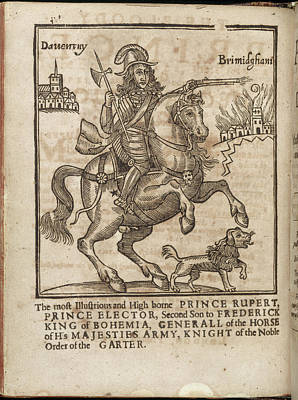Against The War Photograph - Prince Rupert by British Library