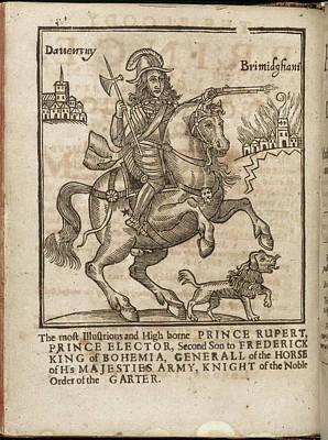 Prince Rupert Photograph - Prince Rupert by British Library