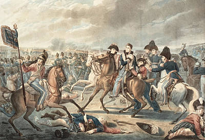 Prince William Painting - Prince William Of Orange Gets Wounded At The Shoulder by Celestial Images