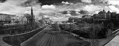 Photograph - Princes Street Gardens East by Ross G Strachan