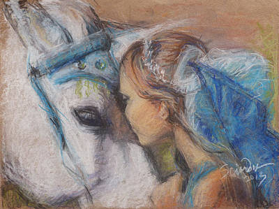 Painting - Alyssa And Lonnee by Sciandra
