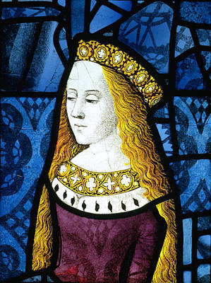 Princess Cecily C.1485 Art Print by English School